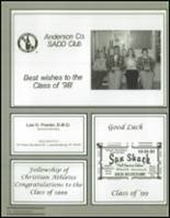 1999 Anderson County High School Yearbook Page 220 & 221