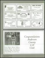 1999 Anderson County High School Yearbook Page 226 & 227