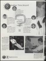 2001 Laingsburg High School Yearbook Page 86 & 87