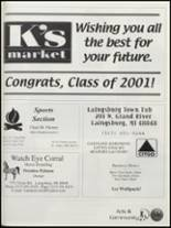 2001 Laingsburg High School Yearbook Page 144 & 145