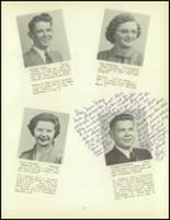 1953 Meshoppen High School Yearbook Page 16 & 17