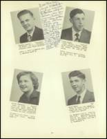 1953 Meshoppen High School Yearbook Page 18 & 19