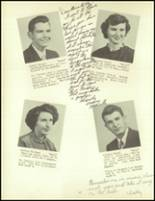1953 Meshoppen High School Yearbook Page 20 & 21