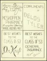 1953 Meshoppen High School Yearbook Page 62 & 63