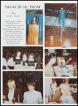 1984 Ft. Cobb High School Yearbook Page 34 & 35