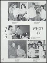 1984 Ft. Cobb High School Yearbook Page 48 & 49