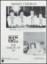 1984 Ft. Cobb High School Yearbook Page 66 & 67
