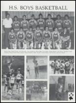 1984 Ft. Cobb High School Yearbook Page 74 & 75