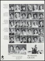 1984 Ft. Cobb High School Yearbook Page 82 & 83