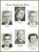 1955 The Dalles High School Yearbook Page 16 & 17