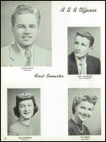 1955 The Dalles High School Yearbook Page 24 & 25