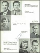 1955 The Dalles High School Yearbook Page 32 & 33