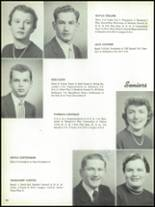 1955 The Dalles High School Yearbook Page 34 & 35