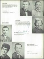 1955 The Dalles High School Yearbook Page 36 & 37