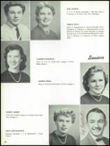 1955 The Dalles High School Yearbook Page 40 & 41