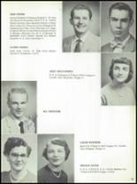 1955 The Dalles High School Yearbook Page 42 & 43