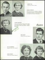 1955 The Dalles High School Yearbook Page 44 & 45