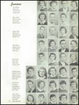 1955 The Dalles High School Yearbook Page 52 & 53