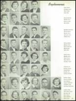 1955 The Dalles High School Yearbook Page 58 & 59