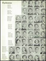 1955 The Dalles High School Yearbook Page 60 & 61