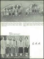 1955 The Dalles High School Yearbook Page 86 & 87