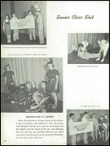1955 The Dalles High School Yearbook Page 98 & 99