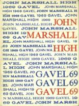 1969 Yearbook John Marshall High School