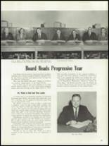 1961 Enid High School Yearbook Page 20 & 21