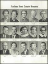 1961 Enid High School Yearbook Page 22 & 23