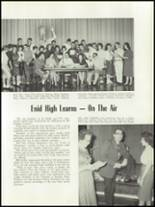 1961 Enid High School Yearbook Page 84 & 85