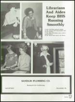 1982 Brownfield High School Yearbook Page 40 & 41