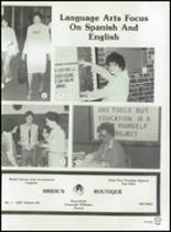 1982 Brownfield High School Yearbook Page 46 & 47