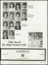 1982 Brownfield High School Yearbook Page 62 & 63