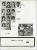 1982 Brownfield High School Yearbook Page 72 & 73