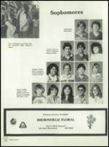 1982 Brownfield High School Yearbook Page 78 & 79