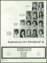 1982 Brownfield High School Yearbook Page 80 & 81