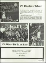 1982 Brownfield High School Yearbook Page 166 & 167