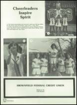 1982 Brownfield High School Yearbook Page 170 & 171