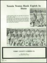 1982 Brownfield High School Yearbook Page 172 & 173