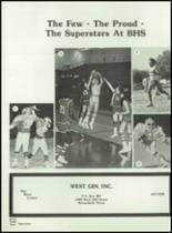1982 Brownfield High School Yearbook Page 184 & 185