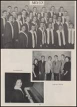 1959 Calmar High School Yearbook Page 20 & 21