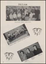 1959 Calmar High School Yearbook Page 28 & 29
