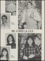 1983 Lyndon Baines Johnson High School Yearbook Page 42 & 43