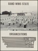 1983 Lyndon Baines Johnson High School Yearbook Page 68 & 69