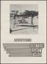 1983 Lyndon Baines Johnson High School Yearbook Page 122 & 123