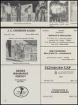 1983 Lyndon Baines Johnson High School Yearbook Page 124 & 125