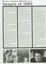 1984 Chaparral High School Yearbook Page 28 & 29