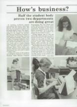 1984 Chaparral High School Yearbook Page 50 & 51