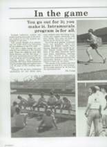 1984 Chaparral High School Yearbook Page 56 & 57