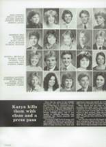 1984 Chaparral High School Yearbook Page 134 & 135